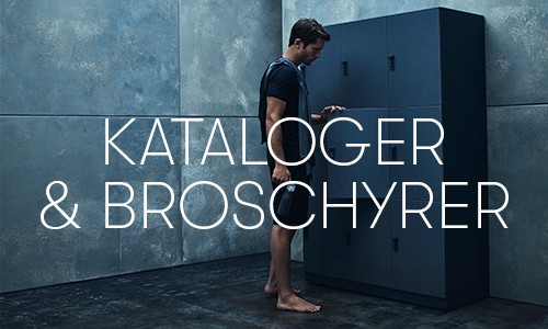 Menu Item KATALOGER BROSCHYRER