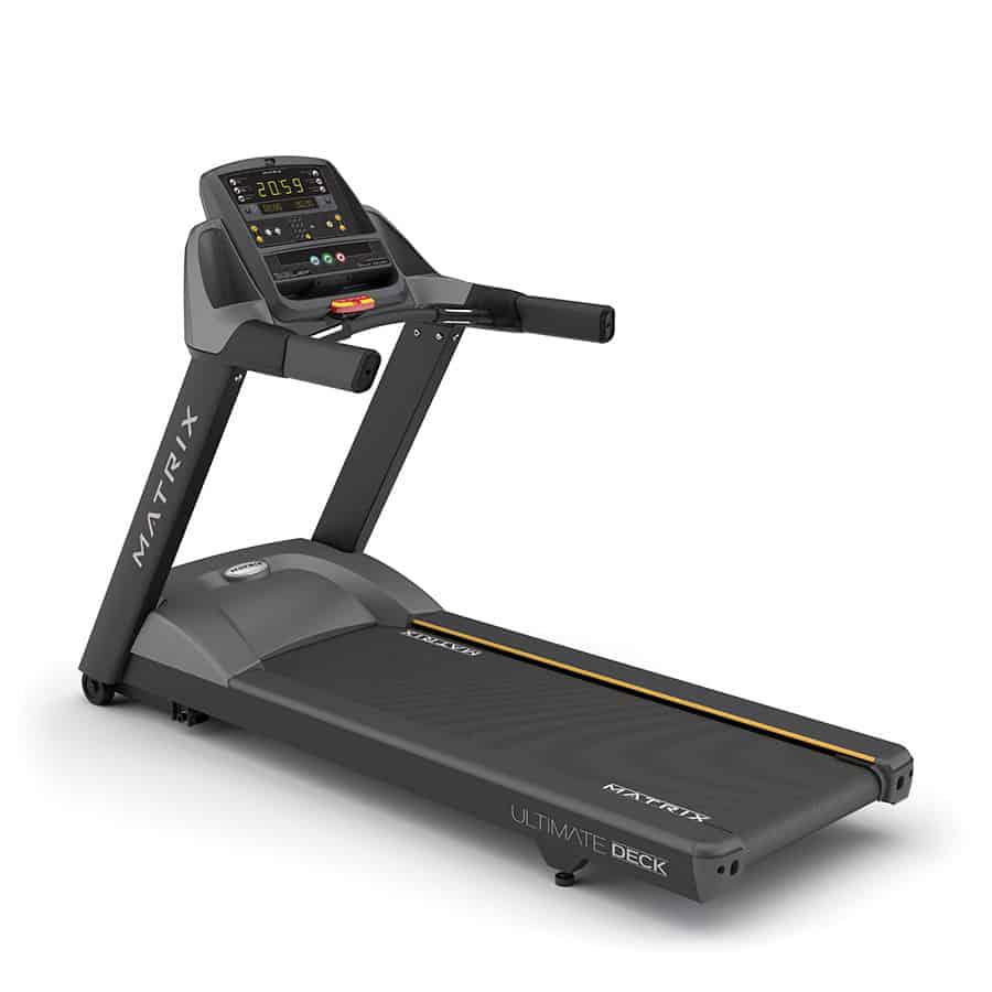 gymutrustning konditionsmaskin löpband matrix fitness casall pro professional